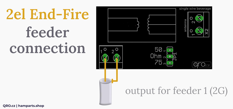 2el end fire feeder connection feeder 1 2G qro.cz hamparts.shop