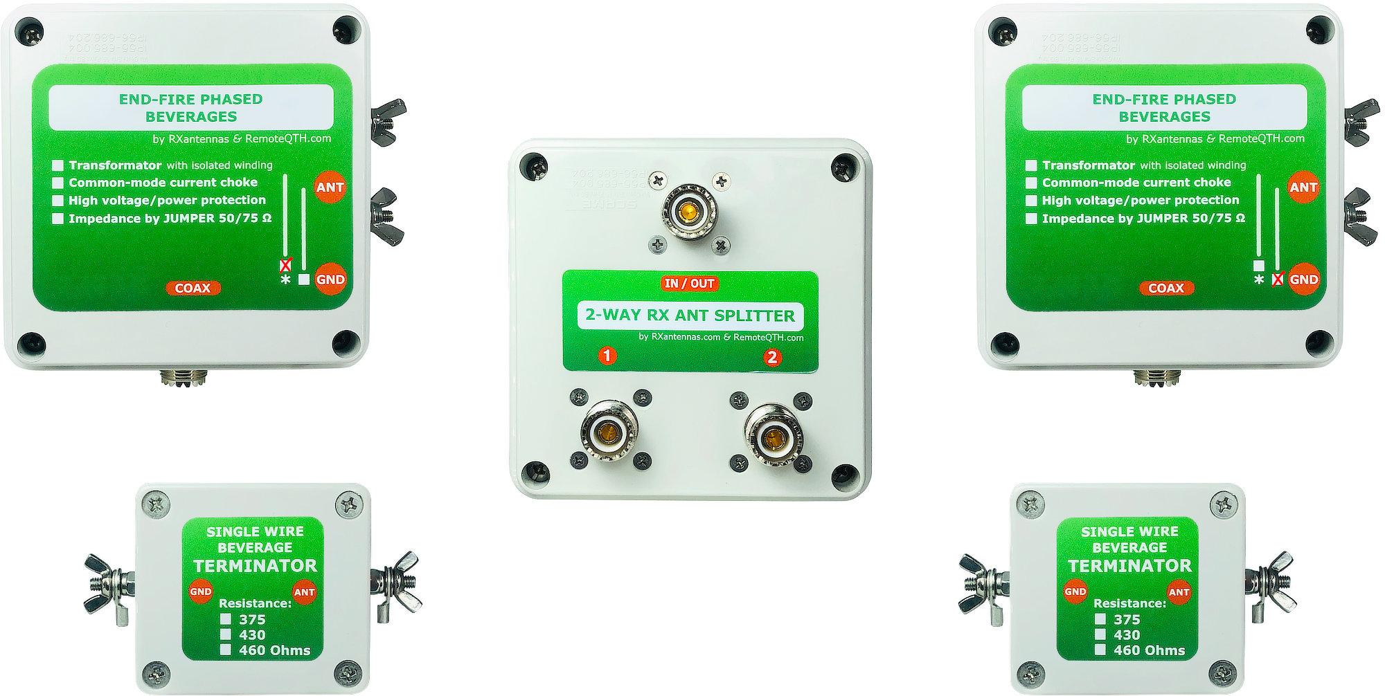 2el end-fire beverage antenna array by qro.cz hamparts.shop