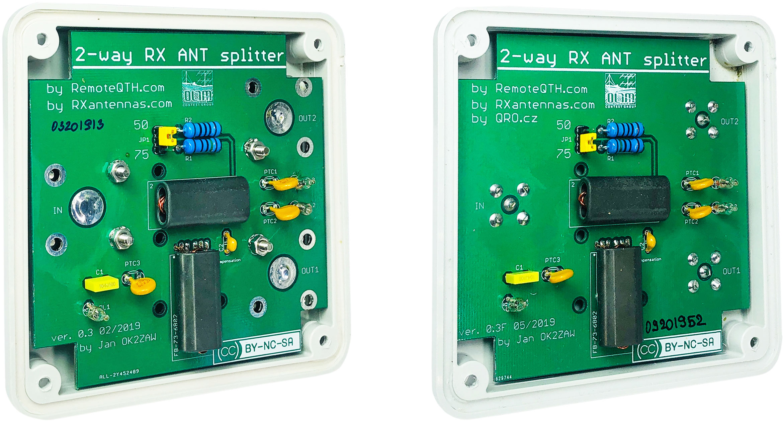 2-way splitter box assembled pcb qro.cz hamparts.shop