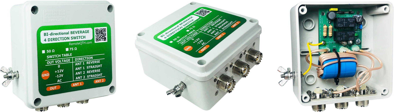 4way rx antenna switch assembled pl connector qro.cz hamparts.shop