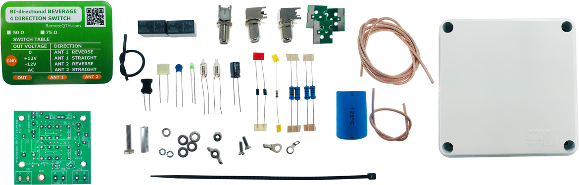 4way rx antenna switch f connector kit qro.cz hamparts.shop