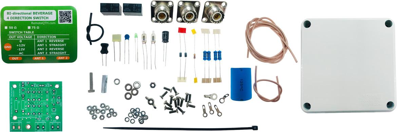 4way rx antenna switch kit pl so-239 qro.cz hamparts.shop