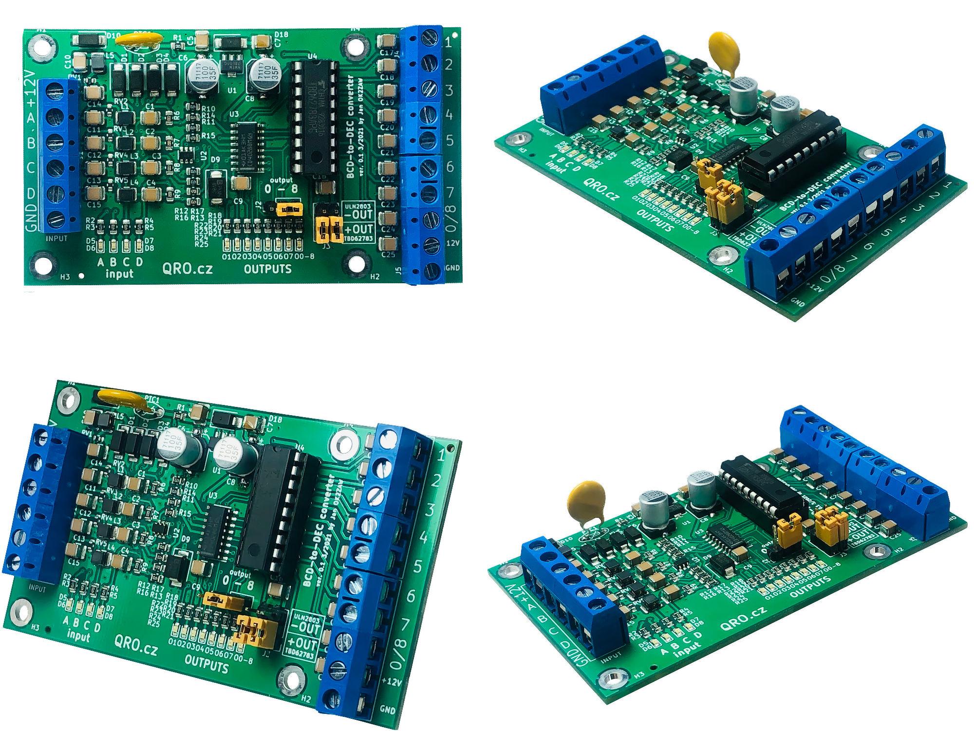 BCD to DEC decoder converter by qro.cz hamparts.shop