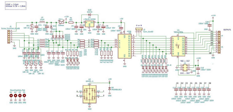 BCD to DEC converter schematic v0.1