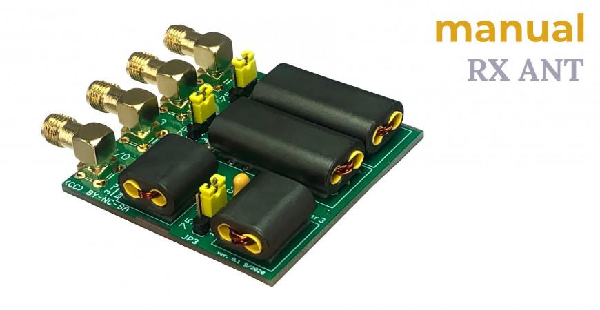 3-way RX small splitter manual